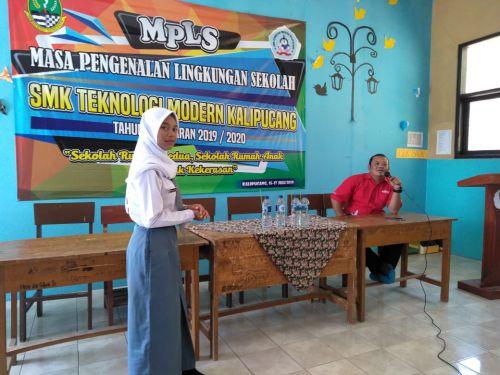 Hari Pertama Sekolah, Ratusan Siswa Baru di SMK Kalipucang-Pangandaran Ikuti Sosialisasi Sekolah Ramah Anak