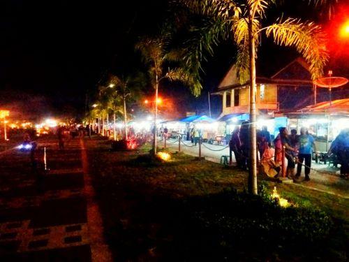Ramaikan Taman Pesona Pangandaran, Culinary Night Di Gelar
