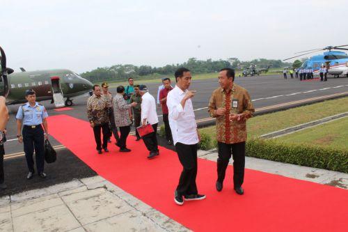 Warnai Kedatangan Presiden Jokowi, Foto Hoax Menyebar di Pangandaran