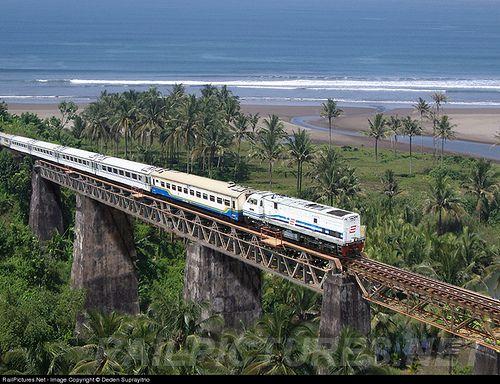 Kereta Jalur Pangandaran kini Tinggal Kenangan