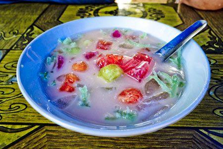 Menikmati Sup Buah Rumput Laut