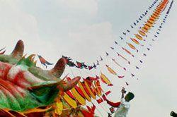 Pangandaran West Java Kite Festival 2010