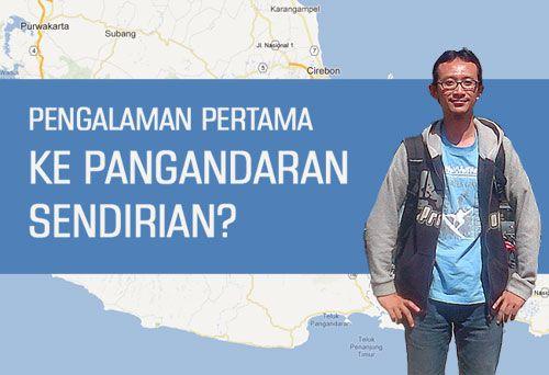 BBM Naik dan Pangandaran, Kisah Johar Dwiaji Pertama Kali ke Pangandaran