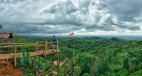 Bukit Pilar Pesona di Pinggiran Pangandaran
