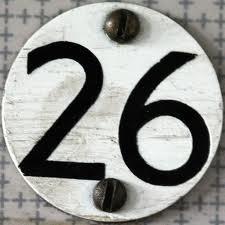 Isyarat Angka 26 dalam Bencana
