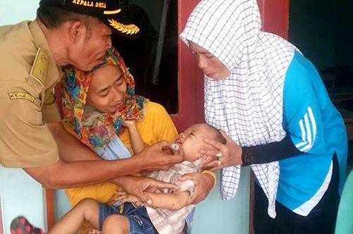 Kabupaten Pangandaran Turut Serta Sukseskan Pekan Imunisasi Nasional