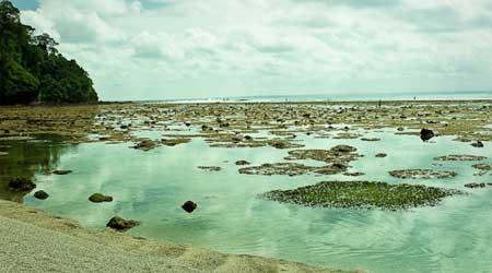 Menikmati Pantai Pangandaran Dengan Murah Meriah