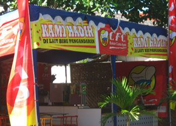 California Fried Chicken (CFC)  Hadir Di Pangandaran