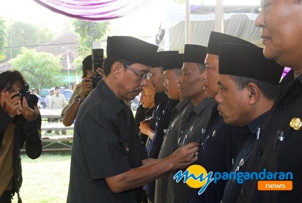 389 Pejabat Struktural Kabupaten Pangandaran Dilantik Pj Bupati