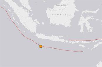 2 Kali Gempa di Barat Daya Tasikmalaya, Sangat Terasa di Pangandaran