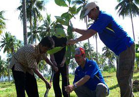 7 Instansi di Pangandaran Tanam Pohon
