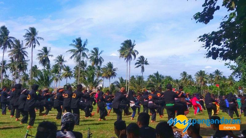 850 Jawara Ramaikan Pra Acara Gelar Seni Tradisi Pencak Silat Jawara Pakidulan ke-2