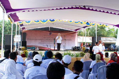 Aksi Sapta Pesona Peningkatan Kapasitas Masyarakat di Destinasi Pariwisata Jawa Barat