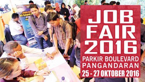 Anda Mencari Kerja? Ribuan Lowongan Menanti di Job Fair 2016 Pangandaran