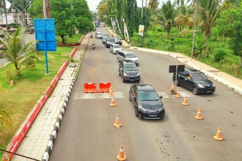 Antisipasi Kemacetan, Pangandaran Belakukan Rekayasa Arus Lalu Lintas