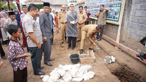 Bakal Punya Gedung Baru, Yayasan Al Maauuna Pangandaran Laksanakan Peletakan Batu Pertama