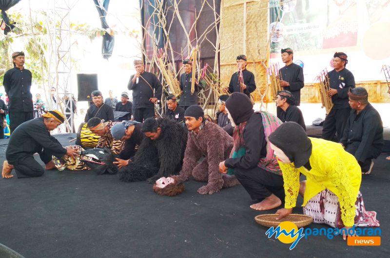 Balai Pelestarian Nilai Budaya Jawa Barat, Gelar Festival Seni dan Budaya di Pangandaran