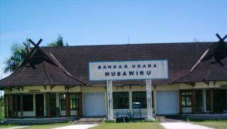 Bandara Nusawiru Belum steril