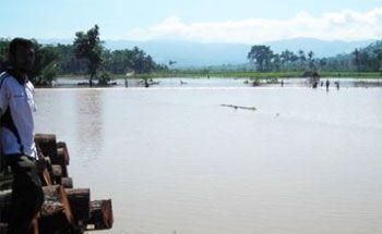 BBWS Citanduy Diminta Perbaiki Saluran Pengendali Banjir Padaherang