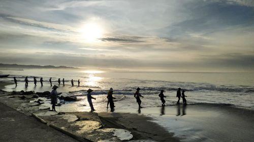Begini Sepinya Pantai Pangandaran Pasca Imbauan Penutupan Kawasan Wisata