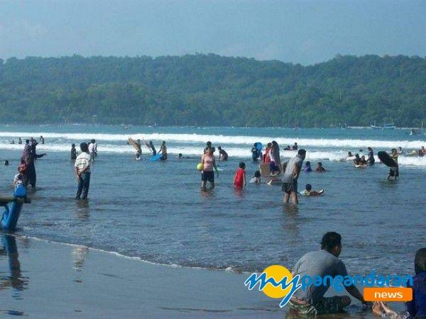 Berenang Terlalu Tengah, Wisatawan Asal Banjar Tenggelam di Pantai Pangandaran