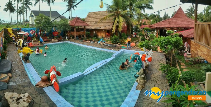 Berenang Yuks, di Kolam Renang Banyu Urip dan Rumah Joglo Pangandaran