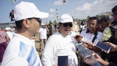 Bupati Pangandaran Berharap Pangandaran International Kite Festival Masuk Dalam Calender of Events Kemenpar
