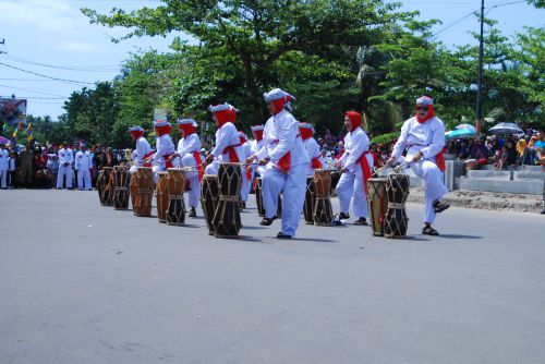 Merihanya Carnaval Budaya Pangandaran 2017