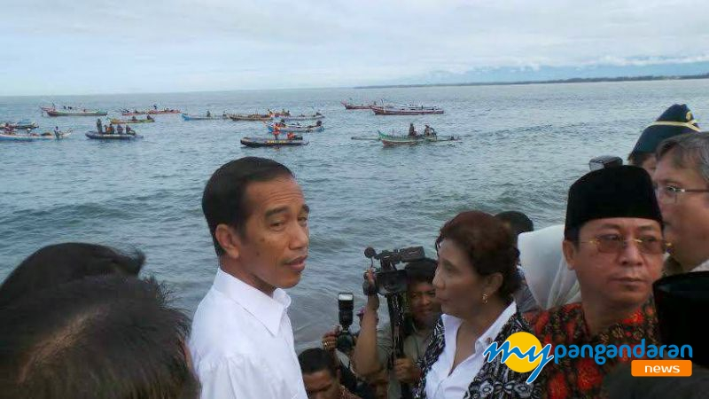 Dalam 15 Tahun Terakhir, Jokowi Adalah Presiden Kedua Yang Mengunjungi Pangandaran