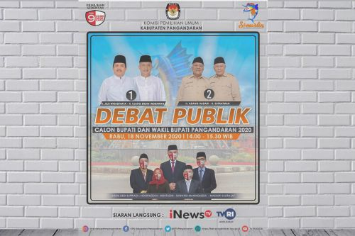 Debat Publik Pilkada Pangandaran Disiarkan Langsung
