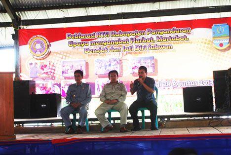 Deklarasi Komunitas Tenaga Sukwan Indonesia (KTSI) Kabupaten Pangandaran