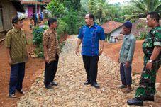 Desa Kalijati Sukses Bangun Jalan 3,2 KM