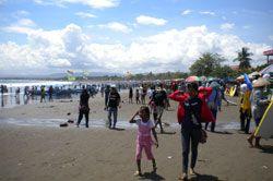 Diperkirakan Puncak Ramai Hari Ini, Korban Tenggelam Nihil