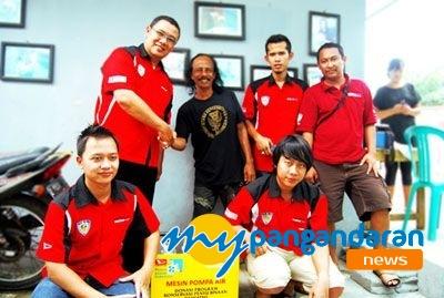 Donasi Program Konservasi Penyu Binaan Daihatsu 2014