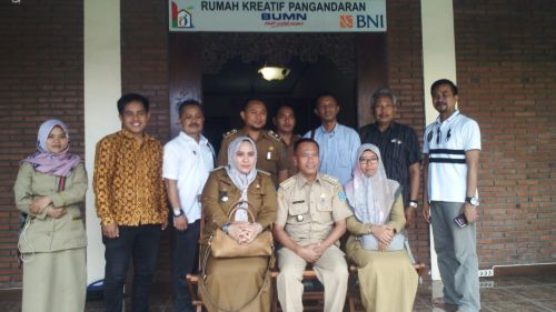 Dongkrak UMKM, Kota Banjar Studi Banding ke Pangandaran