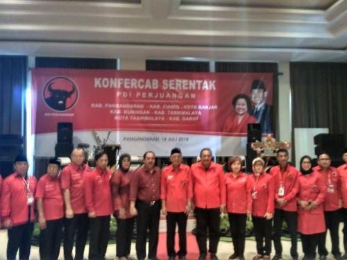 DPD PDI Perjuangan Jabar Gelar Konfercab di Pangandaran