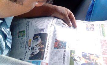 Edisi Perdana Tabloid Pangandaran News Hadir Hari Senin