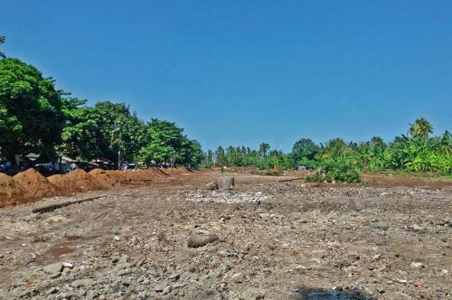 Eks Selatan Pasar Pananjung Mulai Dibangun RTH dan Fasilitas Jalan