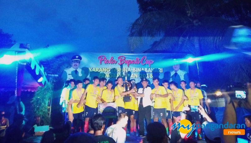 Emerson FC Juara Bupati Cup U-21 2018