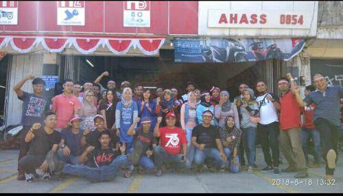 Eratkan Silaturrahmi,  Netral Jaya Motor Pangandaran Gelar Kegiatan