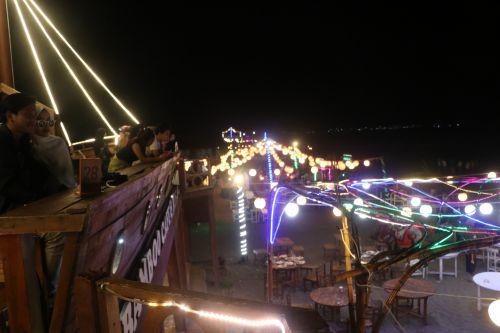 FOTO: Kampung Turis, Rekomendasi Wisata Malam di Pangandaran