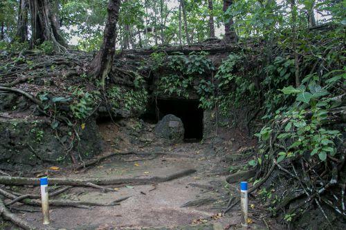 FOTO: Melihat Lebih Dekat Goa Jepang Pangandaran