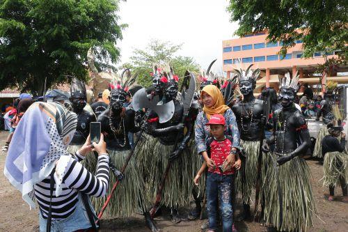Foto: Unik, Karnaval Budaya Milangkala Kabupaten Pangandaran ke-7