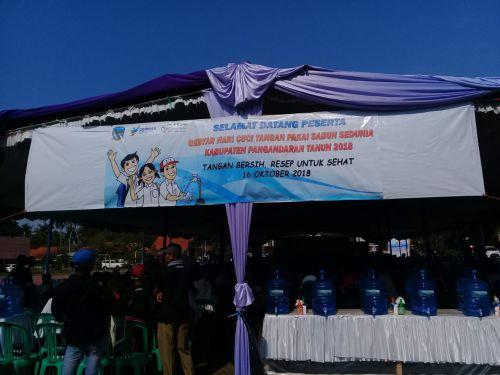 Peringati Hari Cuci Tangan, Pangandaran Gebyar Cuci Tangan Pakai Sabun se Dunia