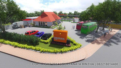 Gedung Tourism Information Center (TIC) Kabupaten Pangandaran Dalam Persiapan