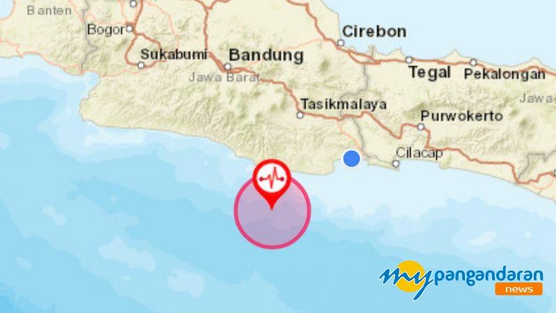 Gempa 4,7 Skala Richter Dirasakan Warga Pangandaran