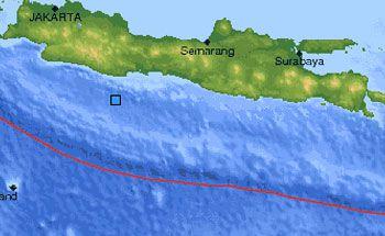 Gempa 4.4 SR Dilaut Tasikmalaya, Terasa Hingga Pangandaran