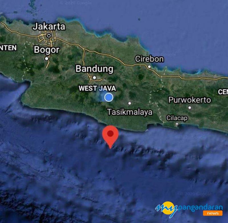 Gempa 5,2 Magnitudo Dirasakan Warga Pangandaran