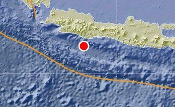 Gempa 5 SR Goyang Pangandaran, Berpusat di Barat Daya Tasikmalaya