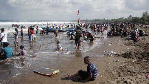 Gempa Cilacap, Pantai Pangandaran Tetap Aman
